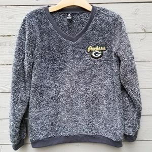 NFL Green Bay Packers Sherpa Pullover